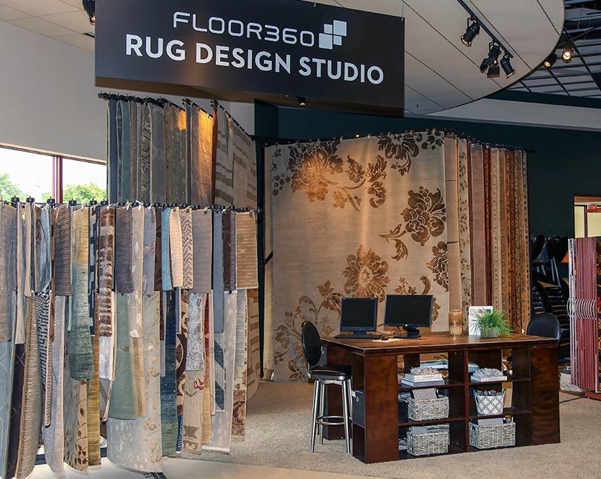 Floor360 area Rug Design Studio
