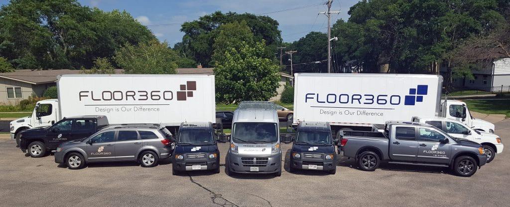 FLOOR360 trucks