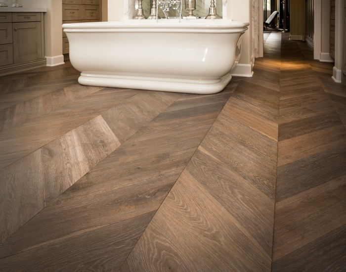 Du Chateau Chevron Thames Bathroom