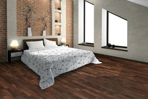 Bedroom hardwood