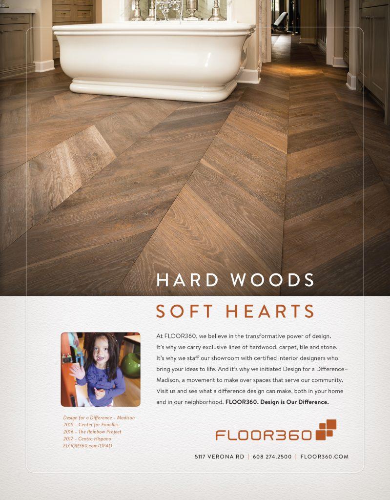 hard wood print ad - Medium Hardwood Hotel 2015