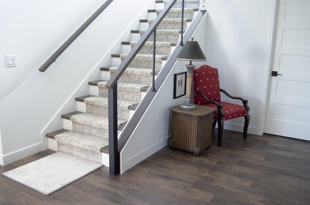 abstract pattern carpet custom stair runner