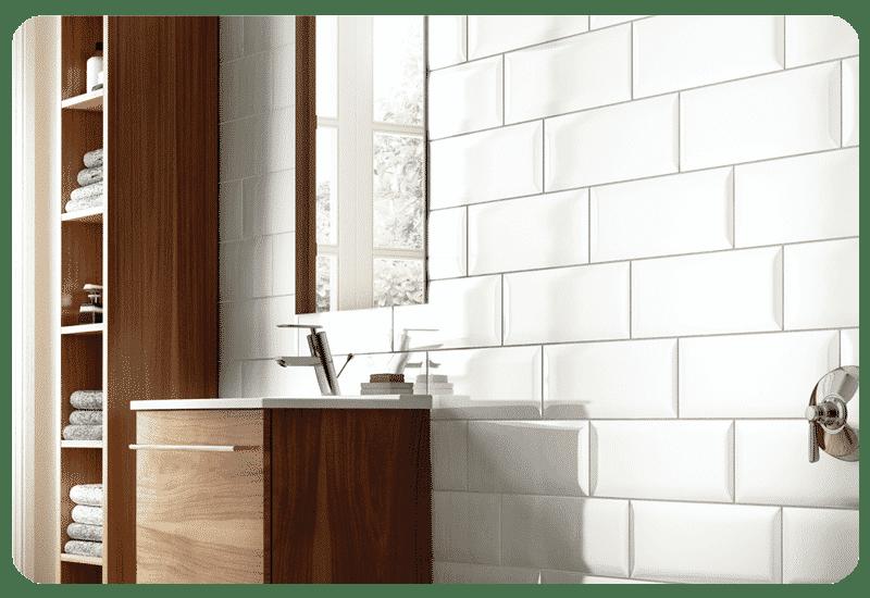 ceramic tile white wall tile