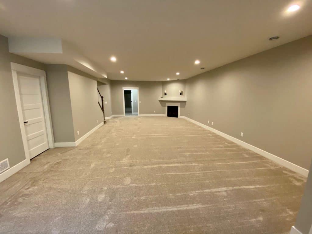 carpeting lower level beige color