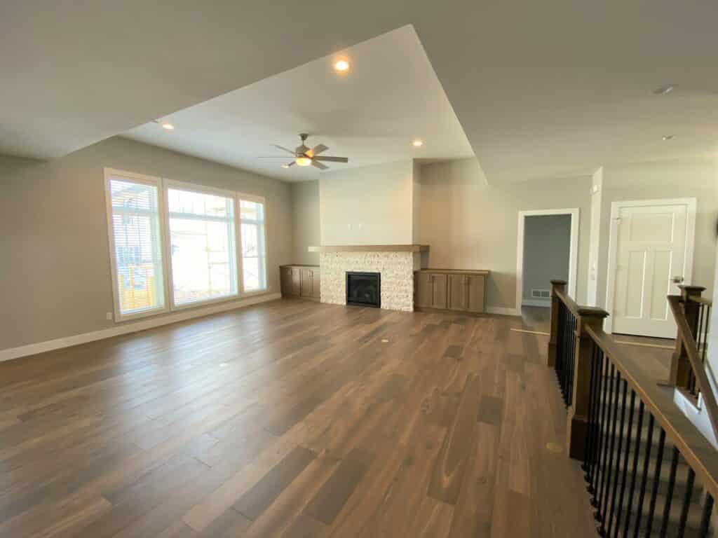 hardwood floor living room medium brown